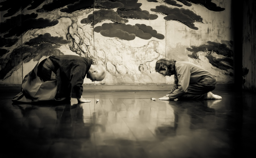 Thoughts and pictures from the Noh workshop at HUBKyoto