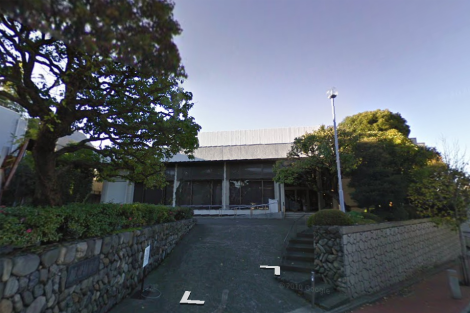 The current Kanze Noh Theatre in Shibuya
