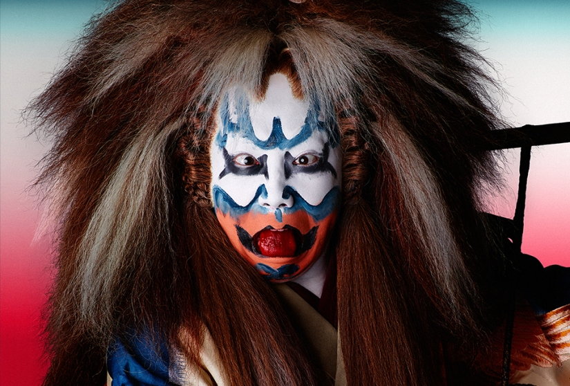 Shochiku Kabuki X Uniqlo = Iemoto Noh XNothing?